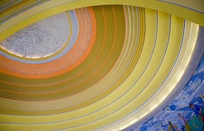 Ceiling of Cincinnati Museum Center
