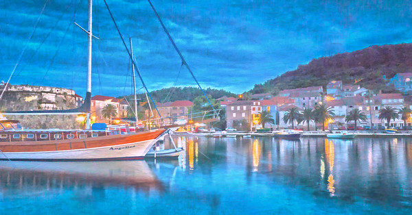 Blue Hour in the Harbor