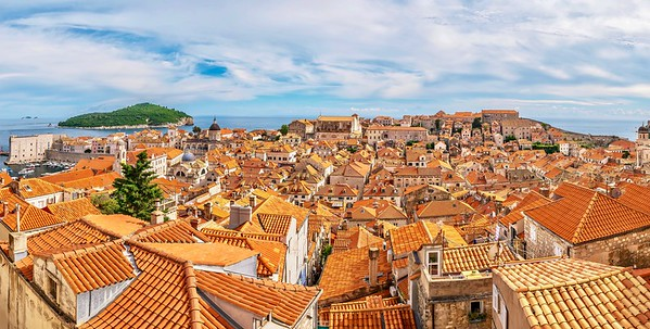 Panorama of Dubrovnik's Old Town