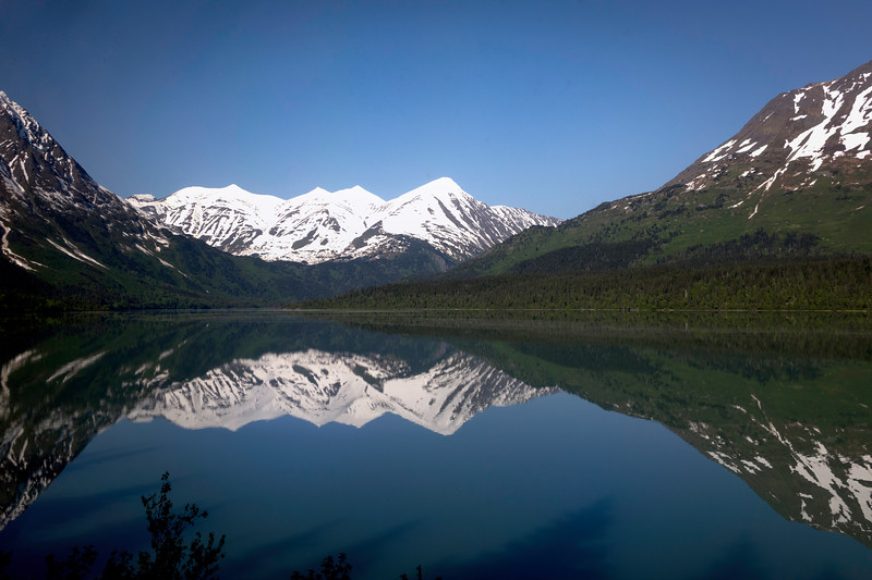 Reflections, Alaska railroad