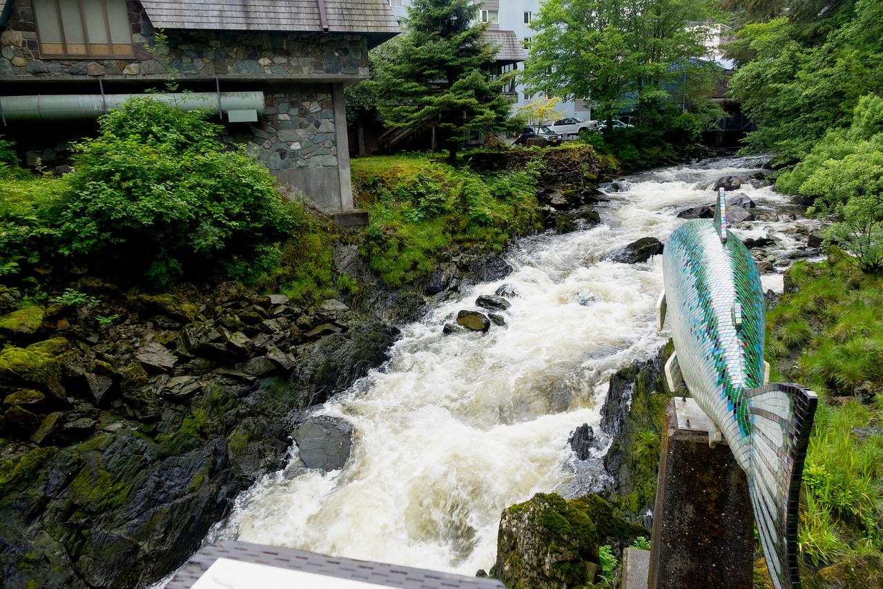 Creek Street bridge - Ketchikan, Alaska