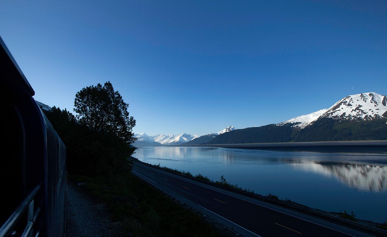 Alaska Railroad - early morning