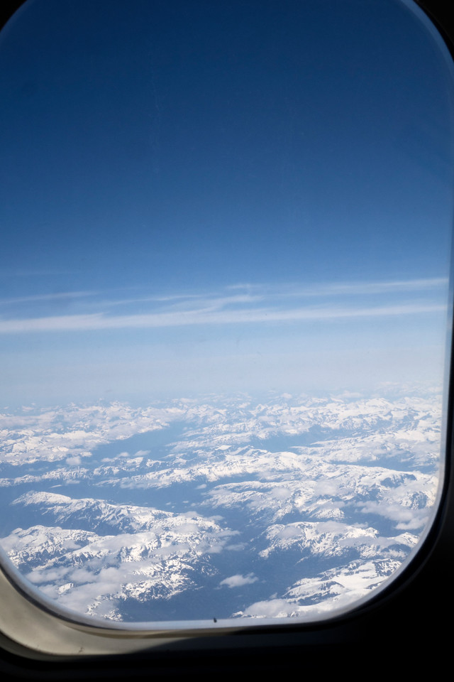 Alaska - first view from Alaska Airlines