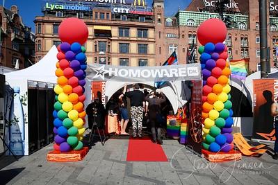 Copenhagen Pride; CPH Pride 2016;