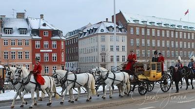 2011-01-05 Monachy in Denmark, Royal New year Tradition 2011, Nytårstaffel 2011