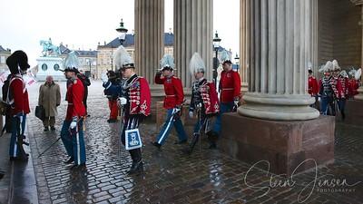 2014-01-06Monachy in Denmark, Royal New year Tradition 2014, Nytårstaffel 2014