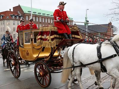 2014-01-06 Monachy in Denmark, Royal New year Tradition 2014, Nytårstaffel 2014