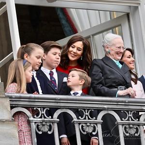 2018-04-16 Queen Margrethe 78 years Birthday