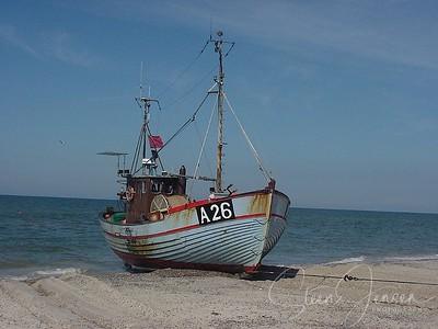 Travel; Denmark; Danmark; Thorup Strand;