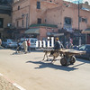 Street Scene of Marrakech