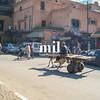 Street Scene of Marrakech