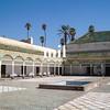 Palais de la Bahiaa in Marrakech in Morocco