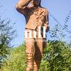 Livingstone Statue at Victoria Falls in Zambia