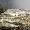 The fast flowing Zambezi at Victoria Falls