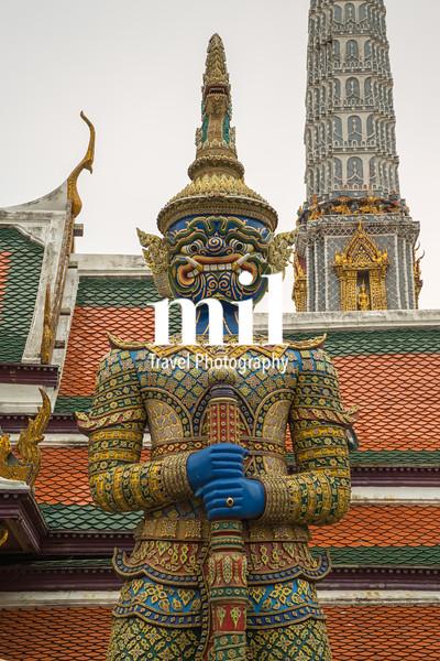 Demon Guardian outisde temple
