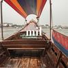 Thai Longtail boat on Bangkok Khlong Canal