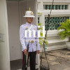 Guard in the Grand Palace in Bangkok