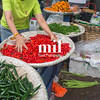 Chillis for sale in Thai Market