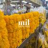 Pak Khlong Flower Market in Bangkok
