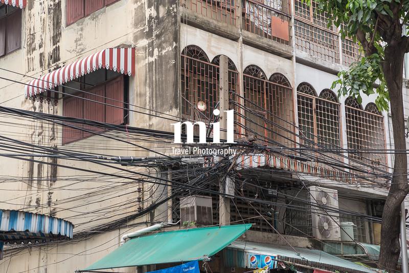 Crazy wiring in Bangkok