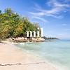 A beautiful beach in Kota Kinabalu
