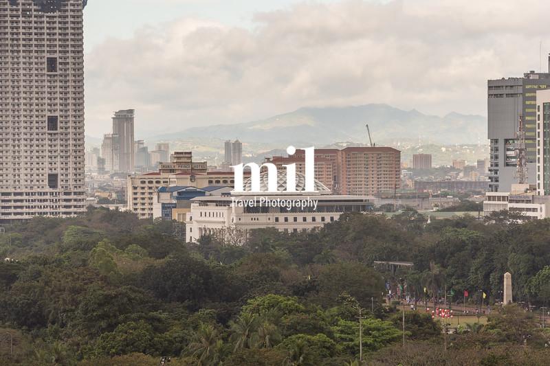 Manila Cityscape in the Philippines