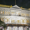 Colonial Building in Singapore at night