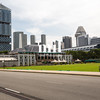 The skyline and cityscape of Singapore