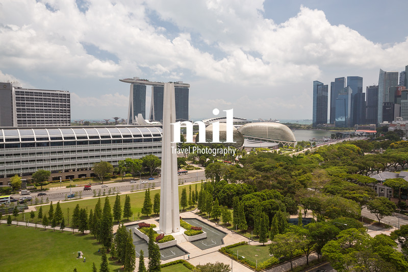 Cityscape and skyline of Singapore during the day
