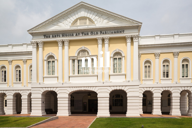 The Old Parliament Building in Singapore