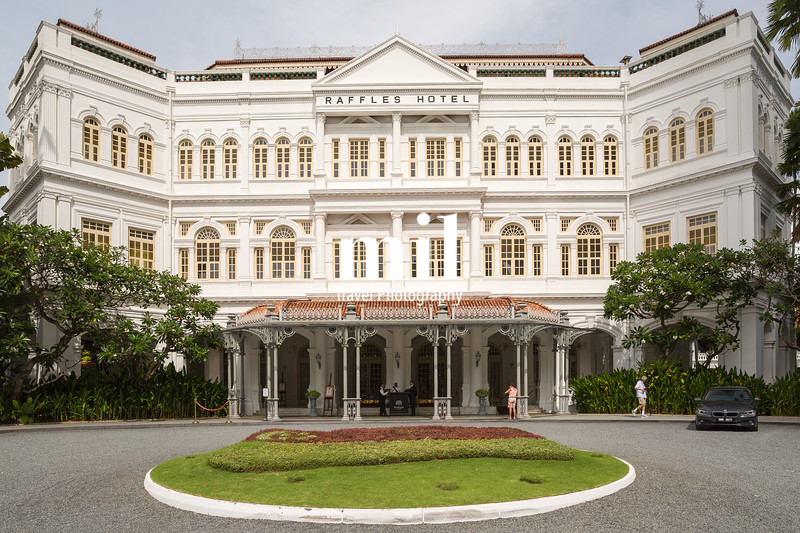 Old Colonial Building in Singapore