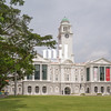 Old Victoria Hall colonial building in Singapore