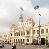 Ho Chi Minh City Hall in former Saigon
