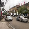 Street scene in Hue in Vietnam