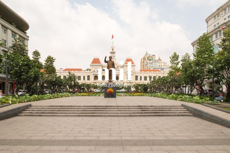 Ho Chi Minh City Hall in former Saigon