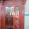 Telephone booth in Ho Chi Minh City Central Post Office former Saigon