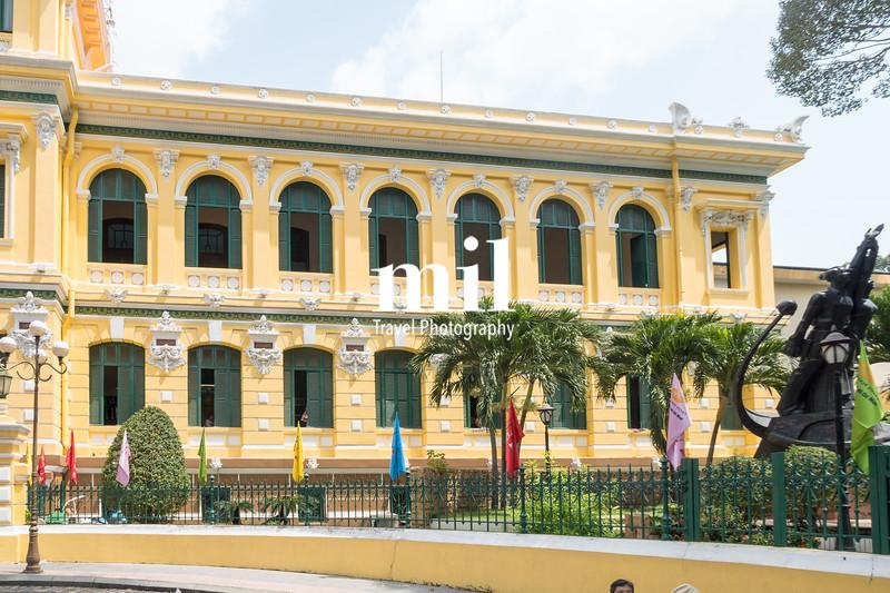 Ho Chi Minh City Central Post Office former Saigon