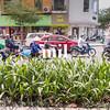 Traditional Vietnamese traffic in Ho Chi Minh city former Saigon