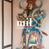 Statue at the Pagoda of the Celestial Lady in Hue Vietnam - Chua Thien Mu