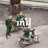 The Police relaxing in Vietnam