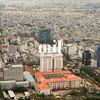 Aerial view of Ho Chi Minh City (former Saigon)