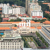 Aerial view of Ho Chi Minh City (former Saigon) City Hall