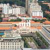 Aerial view of Ho Chi Minh City (former Saigon) City Hall