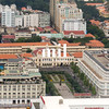 Aerial view of Ho Chi Minh City (former Saigon) of City Hall
