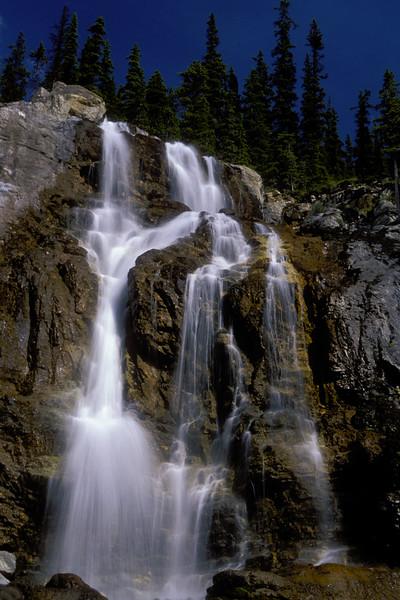 Waterfall, Canadian Rockies, Canada