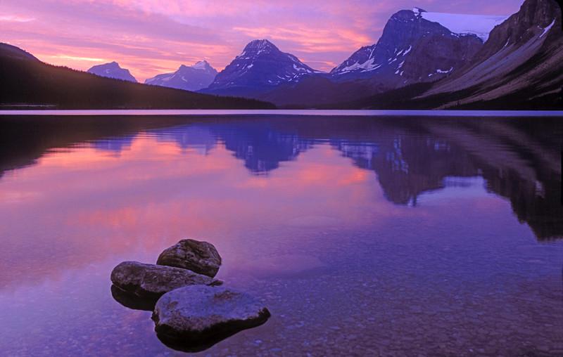 Bow Lake, Canadian Rockies, Alberta, Canada