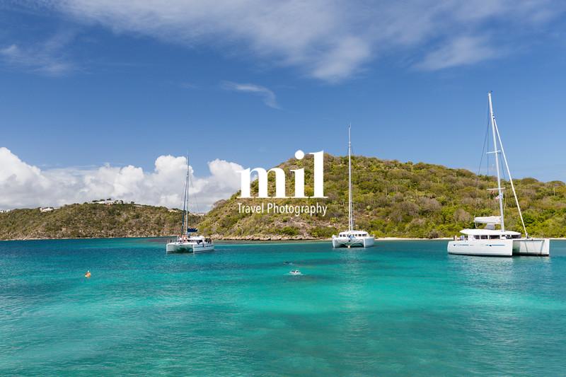 A calm bay in Antigua