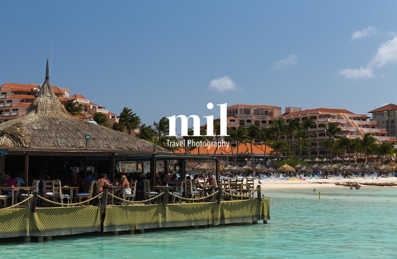 Restaurant at Pelican Pier in Aruba
