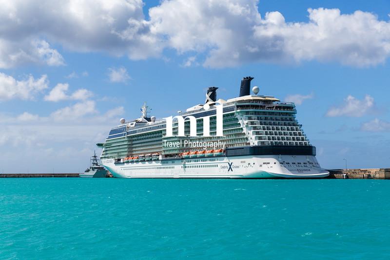 Cruise Ship in Barbados