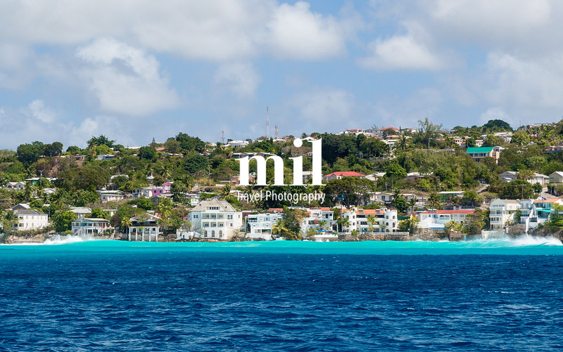 Residences off the coast of Barbados